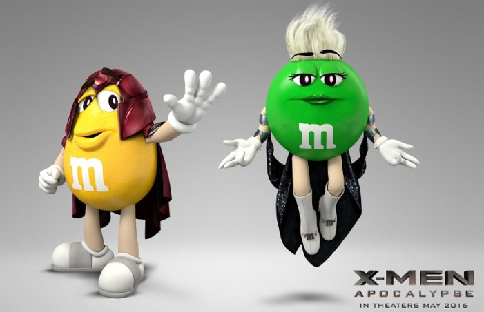 M&M's Joins Forces with 'X-Men: Apocalypse'