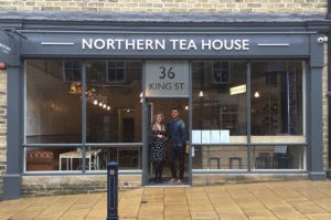 Emma-Grain-and-Kevin-Chatham-outside-The-Northern-Tea-House