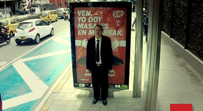 These KitKat Billboards Will Give You a Massage