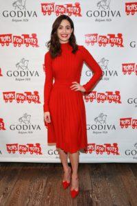Emmy Rossum and Godiva