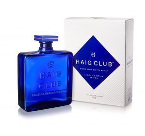 Haig Club Limited Edition Design with IBC Angled