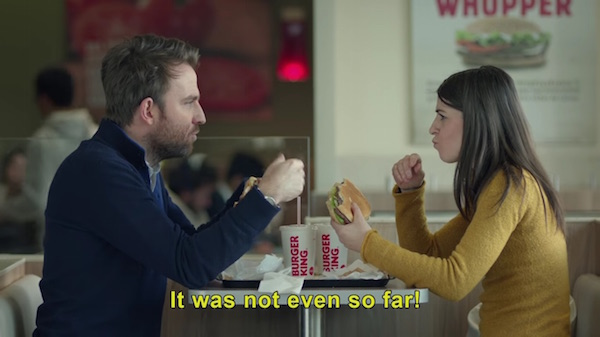 Burger King Responds to McDonald's Sassy Ad Insulting its Drive-Thrus