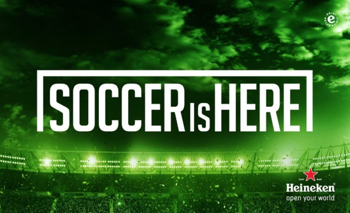 """Heineken Proves """"Soccer Is Here"""" with New US Campaign"""