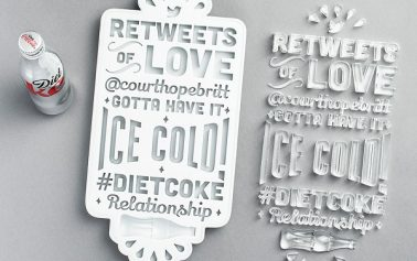 Diet Coke Turns Its Fans' 'Retweets Of Love' Into Unique Creative Gifts