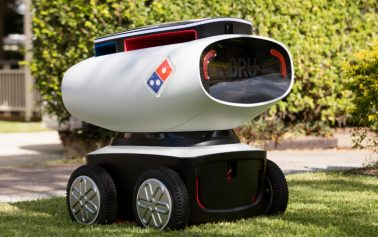 Domino's Latest Stunt is an Autonomous Pizza Delivery Bot