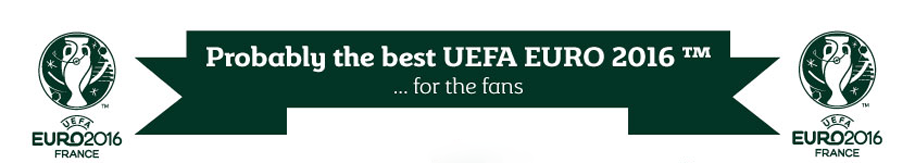 Probably the best EURO for fans