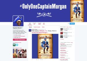 Captain Morgan Twitter