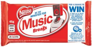 Shazam x Nestlé - Breakers