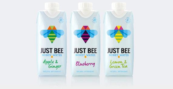 B&B Studio Rebrands Premium 'Honey' Water Just Bee