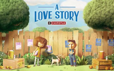 Gorgeous New Chipotle Film is an Animated Story of Rivalry and Love