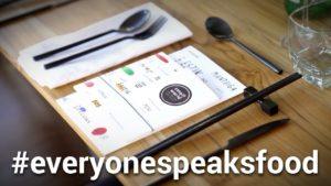 #EveryoneSpeaksFood