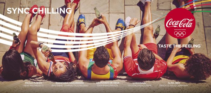 Coca-Cola Goes for Gold in Rio 2016 with Global #ThatsGold Campaign