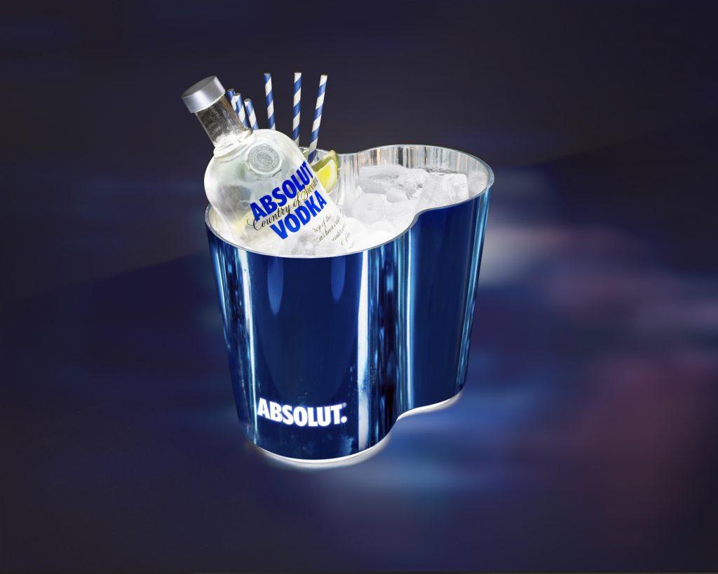 Absolut_Small Ice Bucket_5x4