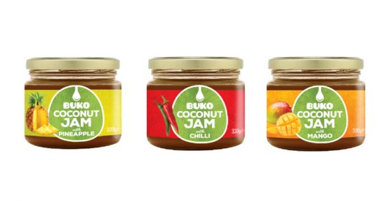 Buko Foods Launch Three New Flavours of Their Organic Coconut Jams