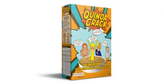 New Wacky 100% Quinoa Gluten Free Cereal Launched in UK