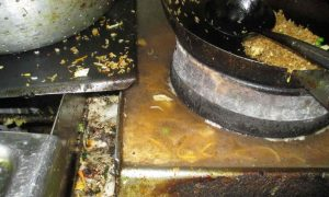 Golden Dragon Chinese restaurant in Newham, east London, was described by inspectors as the worst they had seen. Photograph: Newham borough council