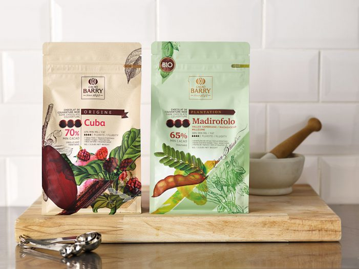 Design Bridge Upgrades Cacao Barry's Packaging
