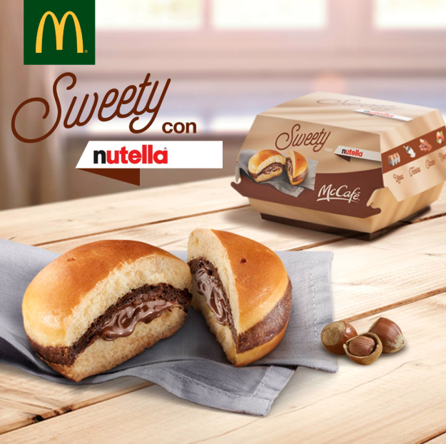 McDonald's Italy Serves Up Nutella Burger