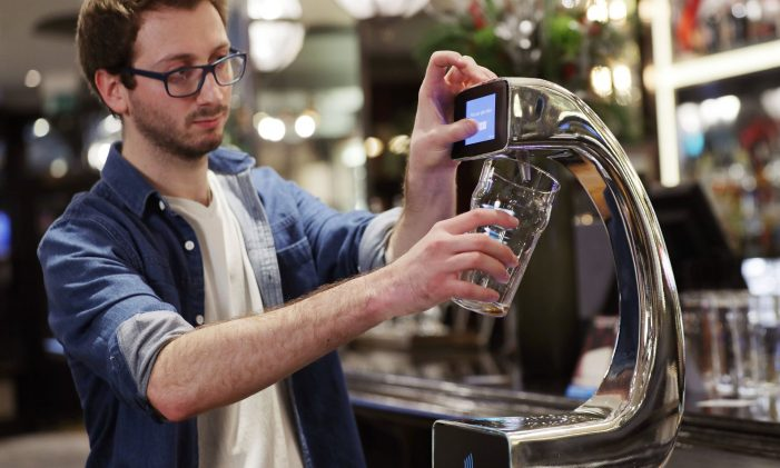 London Bar Installs World's First Tap-And-Pay Beer Pump