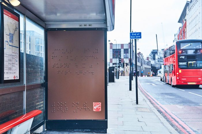 Maltesers Unveils Braille Billboard in Next Phase of Disability Campaign