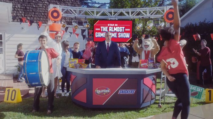 Snickers and Skittles Team with Coach Herm Edwards for Super Bowl 'Almost Game-Time Show'