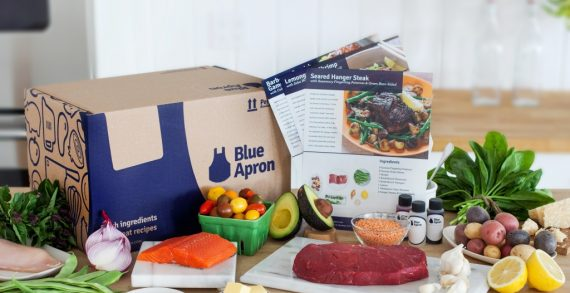Blue Apron Plugs its DIY Meal Kits as Environmentally Friendly in New Campaign