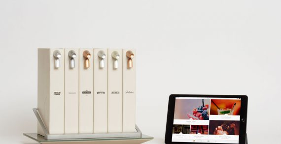 Pernod Ricard Unveils Opn – the World's First Connected Cocktail Library at CES 2017