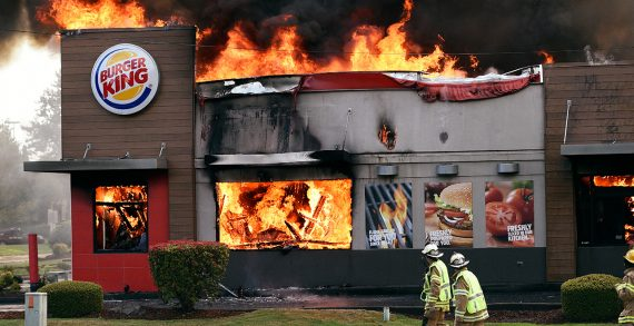 Burger King's New Ads Show Actual BKs that Caught Fire from Flame-Grilling