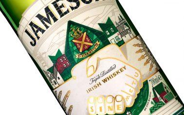 Pearlfisher & Steve McCarthy Team to Create Jameson's St Patrick's Day Bottle