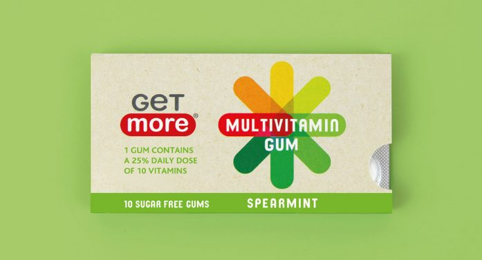 Family(and friends) Brands Get More's New Multivitamin Chewing Gum