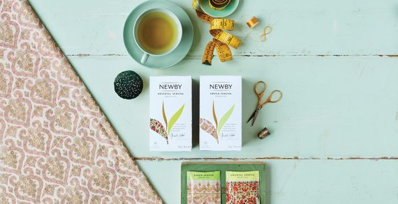 Newby Teas Unveils New Craftsmanship-Inspired Design Facelift of its Classic Tea Bag Collection