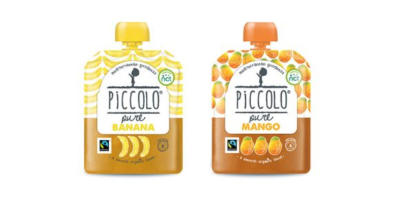 Piccolo Brings Innovation to the Category with Fairtrade Baby Food Pouches