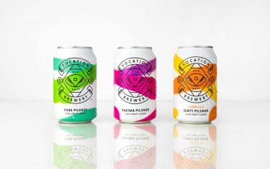 Vocation Brews up Stunning New Craft Lager Range Designed by Robot Food