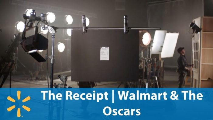 A Single Walmart Receipt Leads to Three Minute Long Films from Hollywood Elite