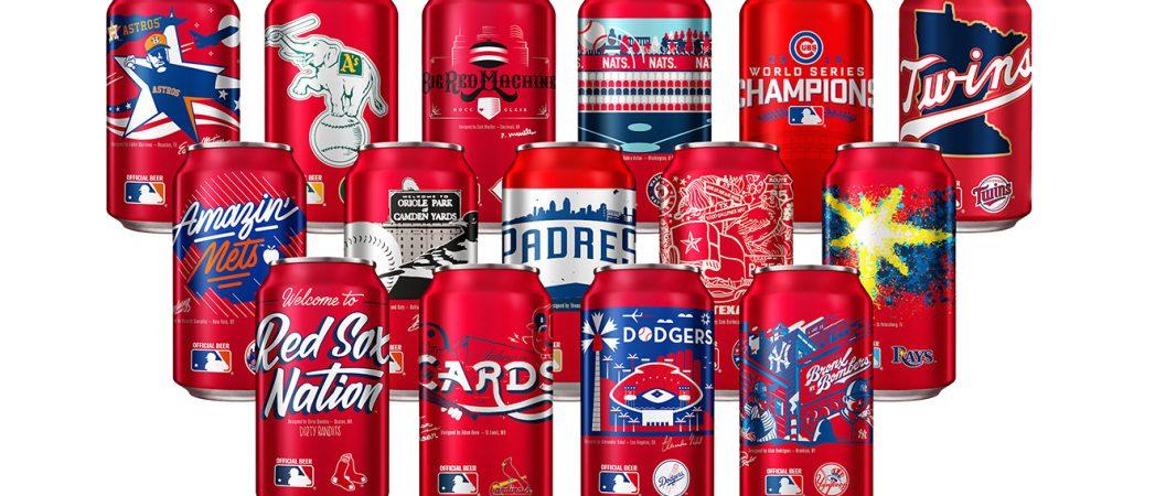 Hometown Artists & Lifelong Baseball Fans Design New MLB Team Cans for Budweiser