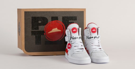 "Pizza Hut's New ""Pie Tops"" Shoes Can Order Pizza for their Customers"