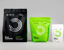 Robot Food Packs a Punch with Progressive New Branding for BULK POWDERS