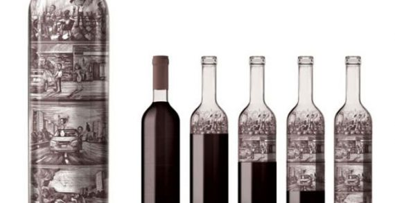 Y&R Russia Hides Clever Comic Strips in Wine Bottles to Promote Responsible Drinking