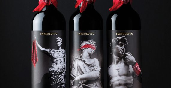 Challenger Wine Brand Fazzoletto Shakes up Category with Disruptive Design by Denomination