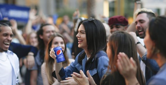 "Pepsi Debuts ""Moments"" Campaign Starring Kendall Jenner"