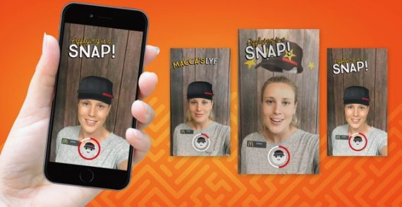 McDonald's Australia Launches the First 'Snaplications' Lens via VML Sydney