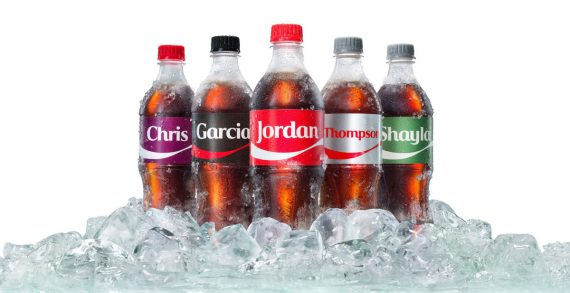 """Share a Coke"" Returns with More Names, More Flavours and More Ways to Enjoy Ice-Cold Summer Refreshment"