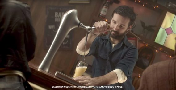 Saatchi & Saatchi Argentina Builds a Leaning Bar for Perfect Pint Pulling for Andes Beer