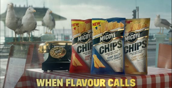 New £2M Campaign to Support New McCoy's Chips is Now Live on TV
