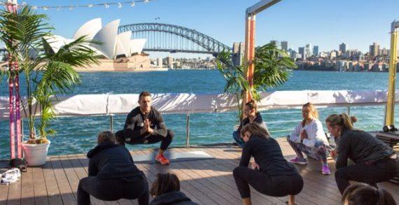 Gatorade Celebrates G Active Launch with Pop-up HydroGym on Sydney Harbour