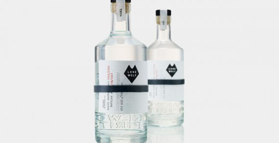 BrewDog's Spirits Brand LoneWolf Launches with Category Challenging Design by B&B Studio