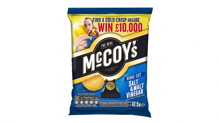 McCoy's Advises Retailers to Stock up for Last Leg of Promotion