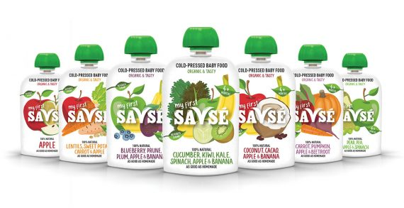 Savsé Launches Europe's First Ever Cold-Pressed Baby Food