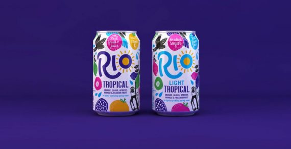 Pearlfisher Redesigns Tropical Soft Drink Brand Rio