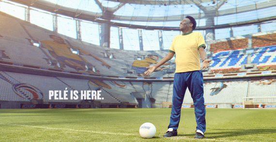 Piranha Bar and Irish International Bring Stadium to Life for Football Legend Pelé and Snickers